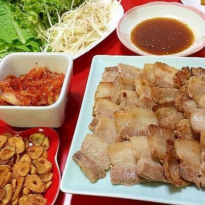 サムギョプサル☆おうちで本格韓国料理