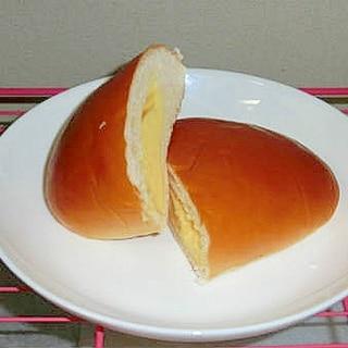 昔ながらのクリームパン♪