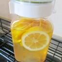 すぐできるレモンサワーのビン保存方法