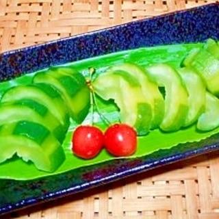 摘果メロン☆簡単粕漬け
