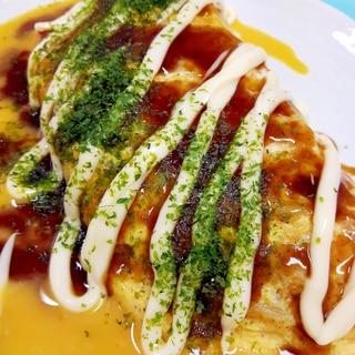 豚肉ともやしで簡単!(^^)チーズ入りとん平焼き♪