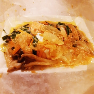 ビストロで作る♪鮭のちゃんちゃん焼き