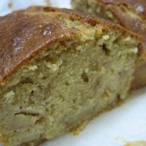 簡単美味しい♪キャラメルりんごケーキ