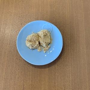 レンジで簡単☆切り餅できなこ餅