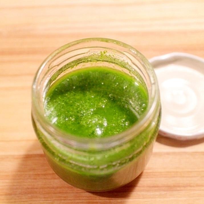 4種のフレッシュハーブのグリーンソース