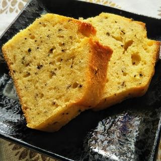 天ぷら粉で作る紅茶とマーマレードのパウンドケーキ