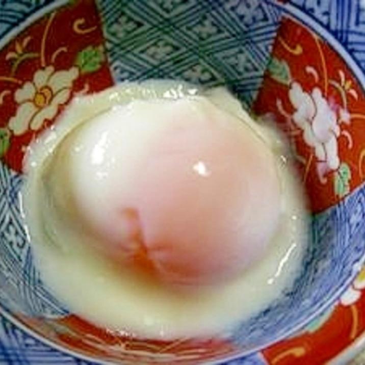 黄味がねっとり濃厚で美味しい!温泉卵(温泉玉子)!