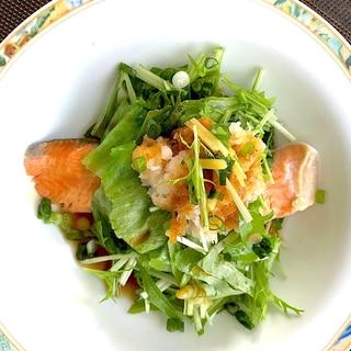 生姜香る☆鮭の野菜蒸し