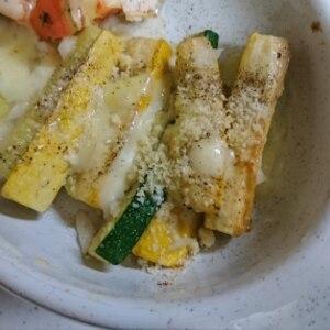 ズッキーニのイタリアンなチーズソテー