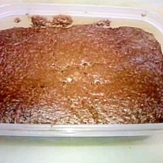 電子レンジで!プロテインココアケーキ