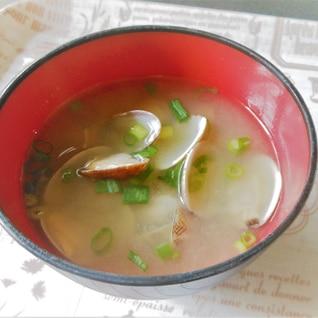 得技 あさりの味噌汁 砂抜き15分バージョン!