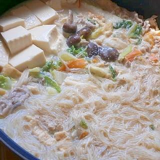 ダイエットメニュー★豆乳鍋★