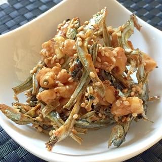 おせち料理⁂クルミ入り田作り