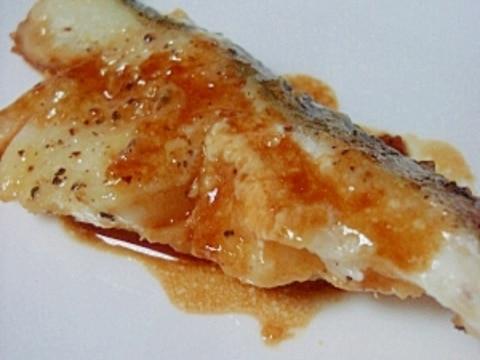 カレイのバター醤油焼き