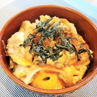 ♪チャーシューの煮汁で♡簡単玉子丼♪