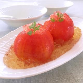 トマトのジュレサラダ