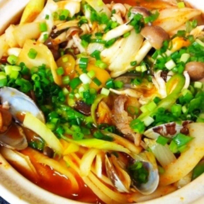 野菜の甘みたっぷり☆ 簡単スンドゥブ