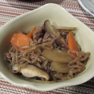 牛肉とごぼう煮