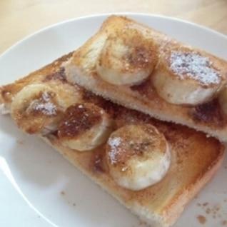 プレスリーの愛したバナナ&ピーナッツトースト