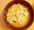 白菜の味噌汁