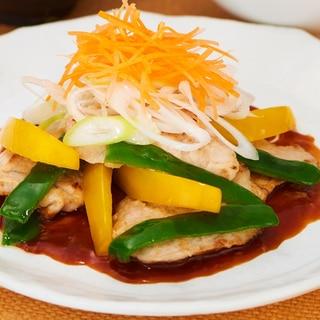 春の彩り~サラダ風酢豚