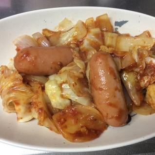 ズボラ料理 トマトパスタソースの野菜炒め