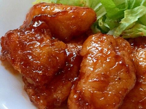 鶏むね肉で♫柔らか♫バーベキューチキン