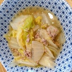 ご飯がすすむ☆白菜のそぼろあんかけ