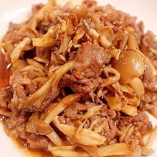 簡単ヘルシー★きのこと豚バラのイタリアン焼肉