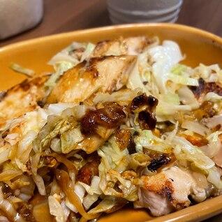 ☆鶏とキャベツの黒糖醤油炒め☆