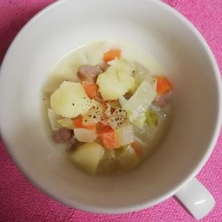 簡単♪あまり野菜de牛乳スープ