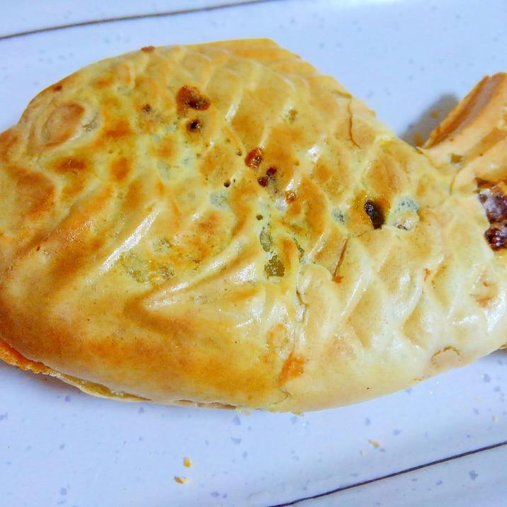 重曹でつくるたい焼き(卵・牛乳なし)