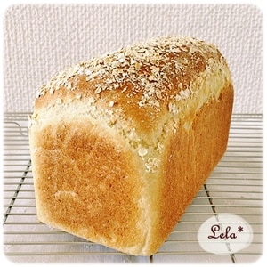 オートミールおから食パン