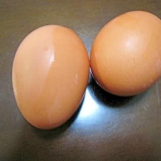 省エネ ゆで卵