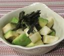 長芋とアボカドの柚子胡椒和え