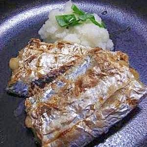 シンプル 太刀魚の塩焼き
