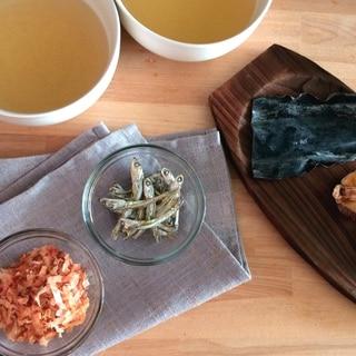 【花嫁キッチン】レッスン#2: 基本の「出汁」の取り方と料理別の使い分けを学ぼう