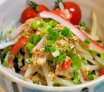 もやしとレタスの中華サラダ