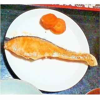鮭のソテー(白ワイン)