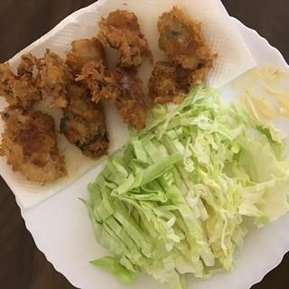 サクサク基本の牡蠣フライ