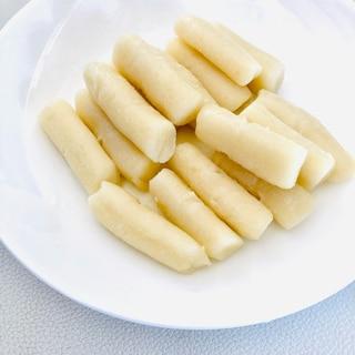 生米から作る手作りトッポギもち (トックもち)