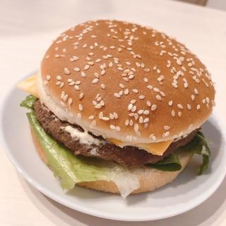 コストコのビーフパティを使って⭐本格ハンバーガー