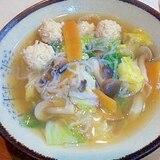 おふくろの味☆鶏団子汁
