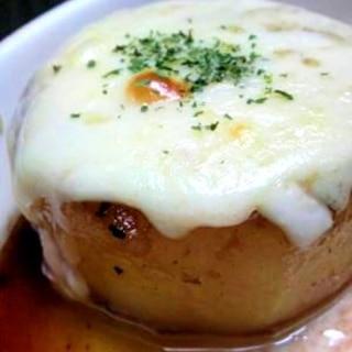 とろとろチーズと大根のステーキ