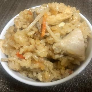 簡単美味しい☆ゴボウサラダ炊き込みご飯