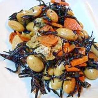 ひじきと大豆の炒り煮