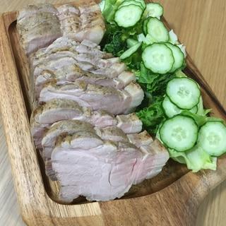 炊飯器で豚肩ロースのローストポーク