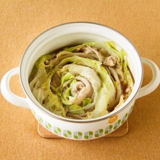白菜のミルフィーユ鍋 Pork hot pot