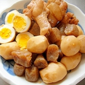 里芋と鶏手羽元のこっくり煮