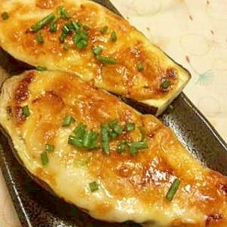 味噌マヨのなすグラタン